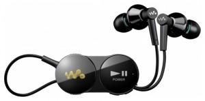 Sony MDR-NWBT10 - маленькие беспроводные наушники с внешним адаптером